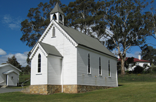 St Andrews Church - Fingal, Tasmania